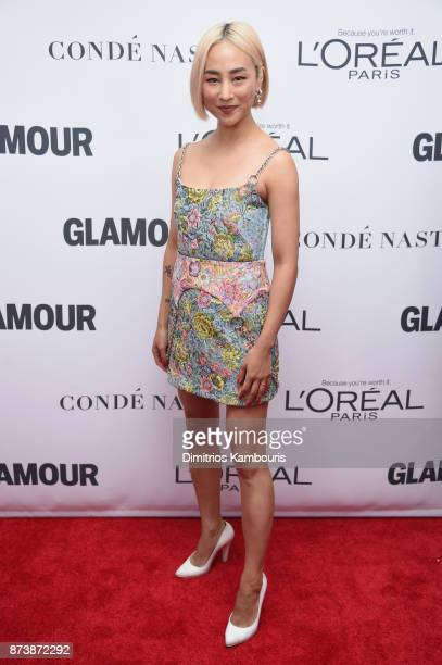 Greta Lee attends Glamour's 2017 Women of The Year Awards at Kings Theatre on November 13 2017 in Brooklyn New York