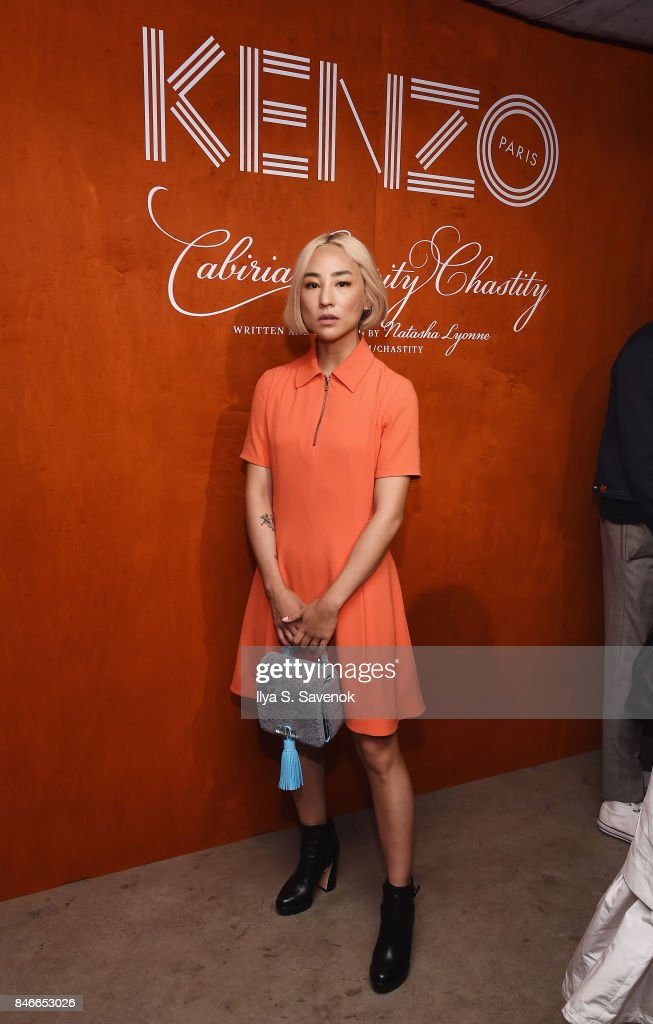 Greta Lee attends KENZO, Humberto Leon, Carol Lim And Natasha Lyonne Premiere 'Cabiria, Charity, Chastity' In New York City at Public Arts on September 13, 2017 in New York City.