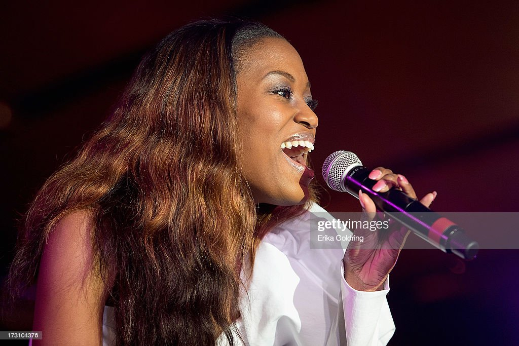 Greta Prince performs during the 2013 Essence Festival at the Mercedes-Benz Superdome on July 6, 2013 in New Orleans, Louisiana.