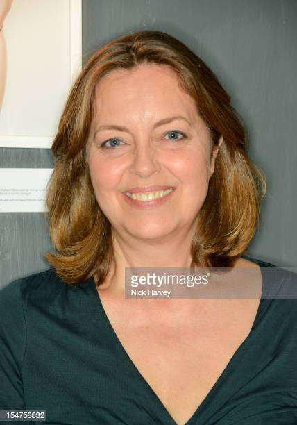 Greta Scacchi attends the private view of Rankin Fishlove on October 25 2012 in London England