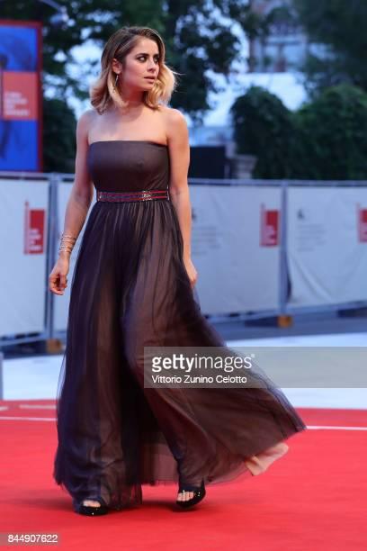 Greta Scarano arrives at the Award Ceremony of the 74th Venice Film Festival at Sala Grande on September 9 2017 in Venice Italy