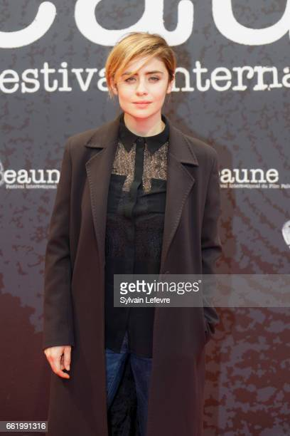 Greta Scarano attends 9th Beaune International Thriller Film Festival on March 31 2017 in Beaune France