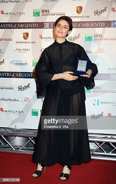 Greta Scarano attends Nastri D'Argento 2016 Award Nominations at Maxxi on May 31 2016 in Rome Italy
