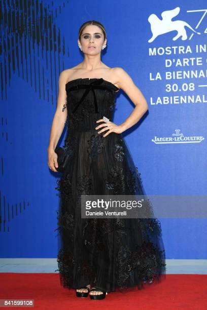 Greta Scarano attends the Franca Sozzani Award during the 74th Venice Film Festival on September 1 2017 in Venice Italy