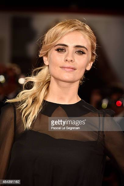 Greta Scarano attends 'The Humbling' premiere during the 71st Venice Film Festival on August 30 2014 in Venice Italy