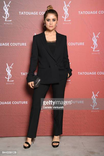Greta Scarano attends the YSL Beauty Club Party during the 74th Venice Film Festival at Arsenale on September 8 2017 in Venice Italy