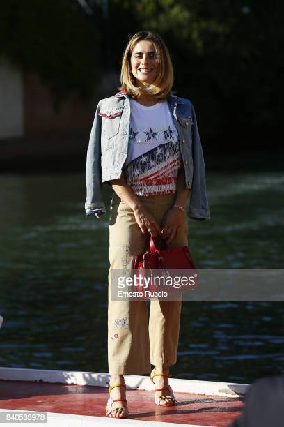 Greta Scarano is seen ahead of the 74th Venice Film Festival at Excelsior Darsena on August 29 2017 in Venice Italy