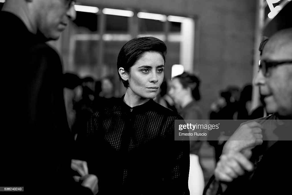 Greta Scarao attends the Nastri D'Argento 2016 Award Nominations at Maxxi Museum on May 31, 2016 in Rome, Italy.