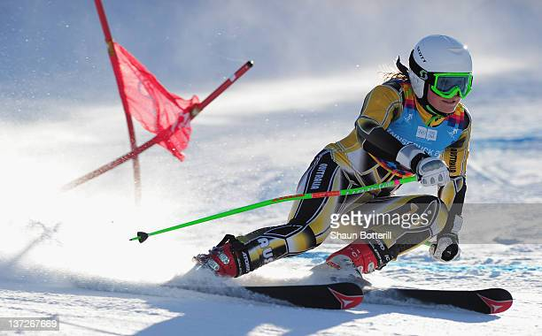 Greta Small of Australia in action during the Women's Giant Slalom Event on January 18 2012 in Patscherkofel Austria