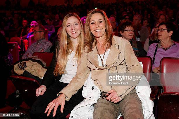 Greta Zambo and Gundis Zambo attend the Circus Krone March Premiere at Circus Krone on March 1 2015 in Munich Germany