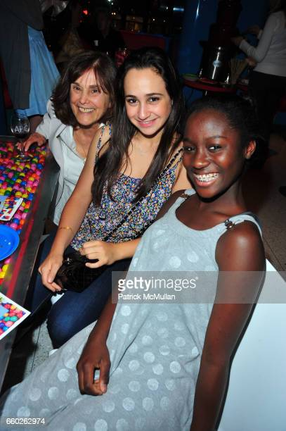 Gretchen Buchenholz Rachel Blankfein and Vanessa Asare attend ASSOCIATION to BENEFIT CHILDREN hosts COCKTAILS IN CANDYLAND at Dylan's Candy Bar on...
