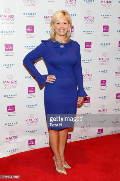 Gretchen Carlson attends the 2017 Matrix Awards at Sheraton New York Times Square on April 24 2017 in New York City