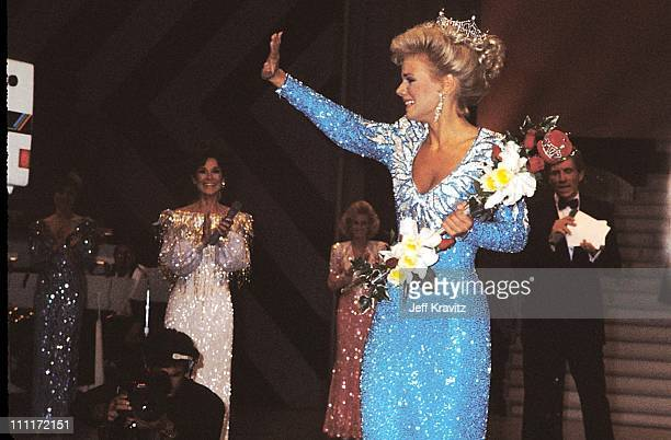 Gretchen Carlson during Miss America 1988 in Atlantic City New Jersey United States