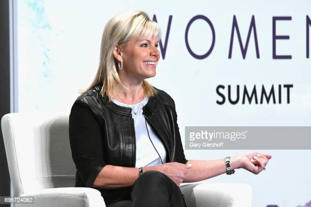 Gretchen Carlson speaks on stage during the 2017 Forbes Women's Summit at Spring Studios on June 13 2017 in New York City