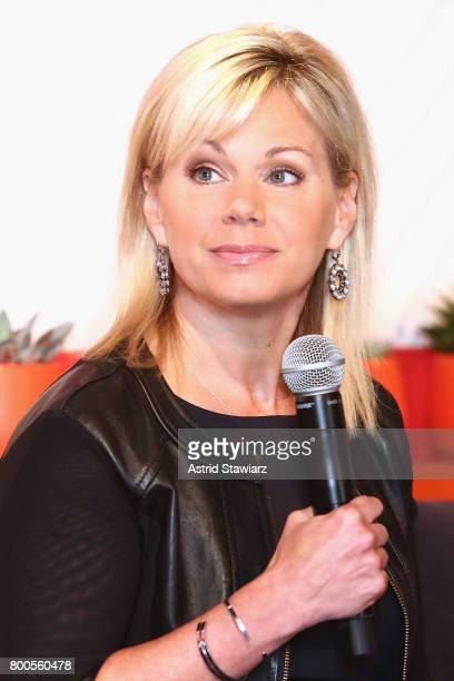Gretchen Carlson speaks on stage during the Cosmopolitan Let's Talk About It Event on June 24 2017 in New York City