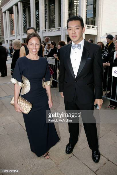 Gretchen Fenton and Jim Shi attend American Ballet Theatre Annual Spring Gala Arrivals at The Metropolitan Opera House on May 18 2009 in New York City