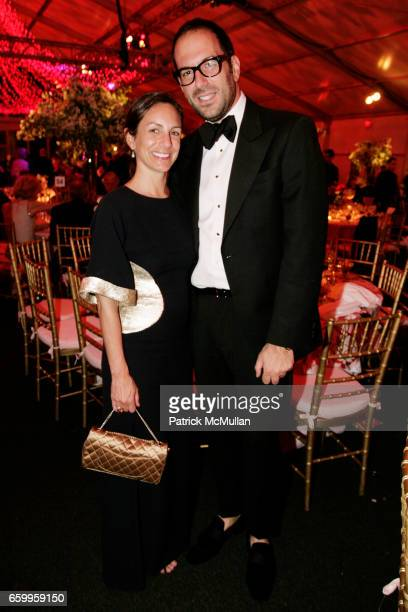 Gretchen Fenton and Mario Grauso attend AMERICAN BALLET THEATRE Annual Spring Gala Dinner at The Metropolitan Opera House on May 18 2009 in New York