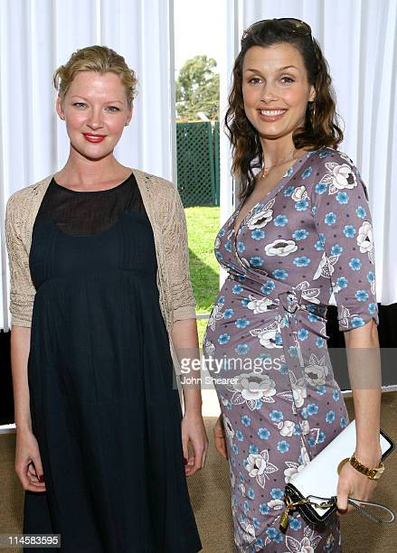 Gretchen Mol and Bridget Moynahan during Coach Fragrance Launch to Benefit EBMRF in Los Angeles California United States