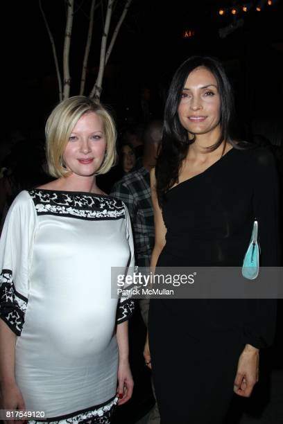 Gretchen Mol and Famke Janssen attend The New York Premiere of TRUE GRIT at Ziegfeld Theatre on December 14 2010 in New York City