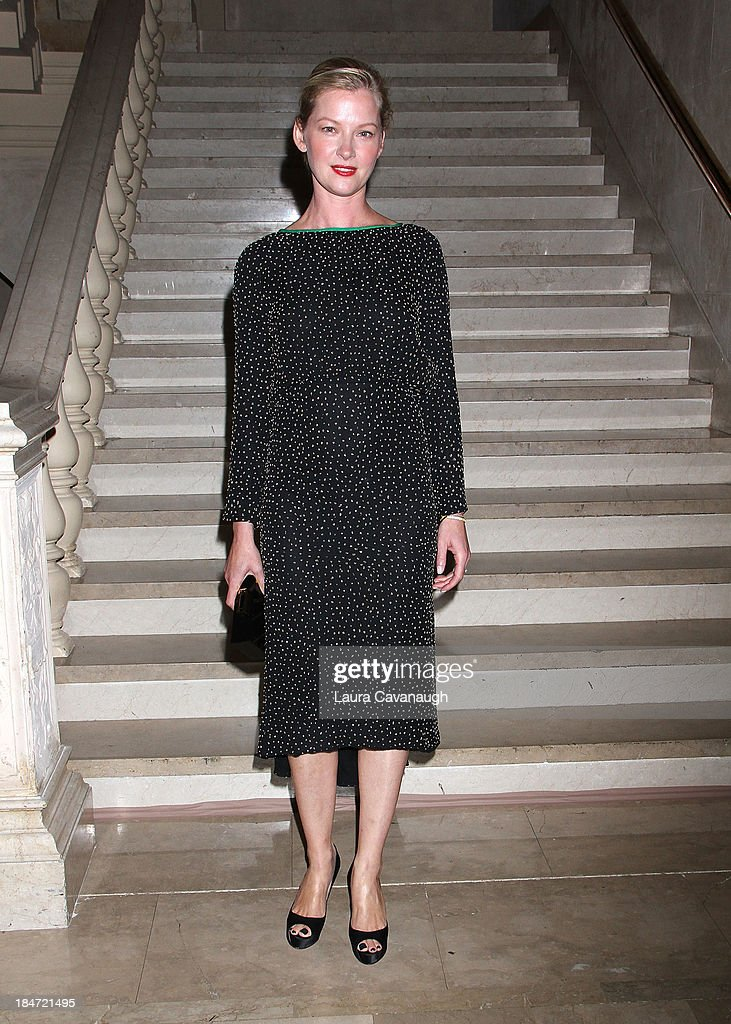 Gretchen Mol attends the 2013 Skin Cancer Foundation Gala at The Plaza Hotel on October 15, 2013 in New York City.
