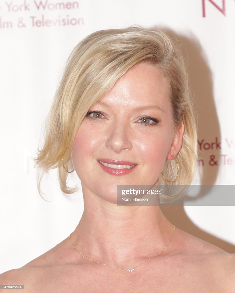 Gretchen Mol attends the 2015 New York Women in Film & Television Designing Women Awards Gala at Scholastic Auditorium on May 28, 2015 in New York City.