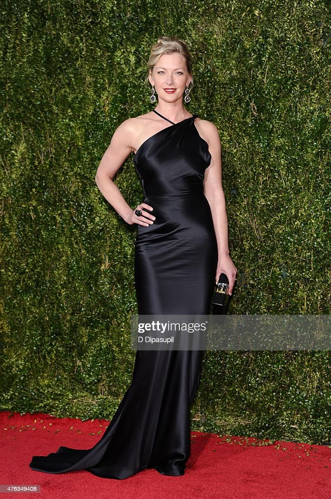 Gretchen Mol attends the American Theatre Wing's 69th Annual Tony Awards at Radio City Music Hall on June 7 2015 in New York City