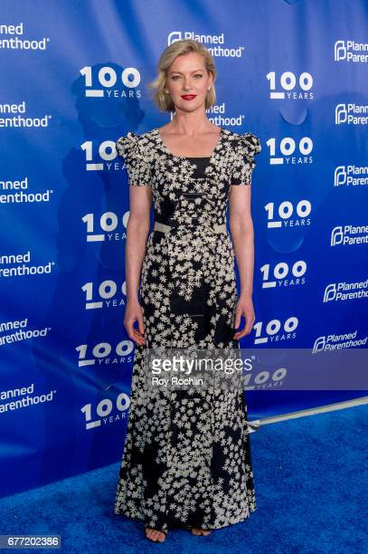 Gretchen Mol attends the Planned Parenthood 100th Anniversary Gala at Pier 36 on May 2 2017 in New York City
