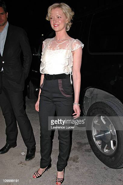 Gretchen Mol during The Notorious Bettie Page New York City Premiere After Party at BED in New York City New York United States