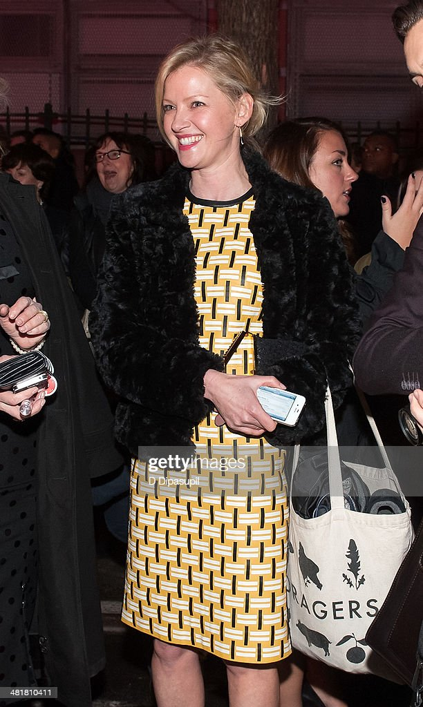 <a gi-track='captionPersonalityLinkClicked' href=/galleries/search?phrase=Gretchen+Mol&family=editorial&specificpeople=206189 ng-click='$event.stopPropagation()'>Gretchen Mol</a> is seen on Norfolk Street at Soho Rep's 2014 Spring Fete at the Angel Orensanz Center on March 31, 2014 in New York City. Approximately 300 people had to be evacuated from the Angel Orensanz Center after several columns were discovered to have cracks, however there were no injuries reported and the benefit continued outdoors.