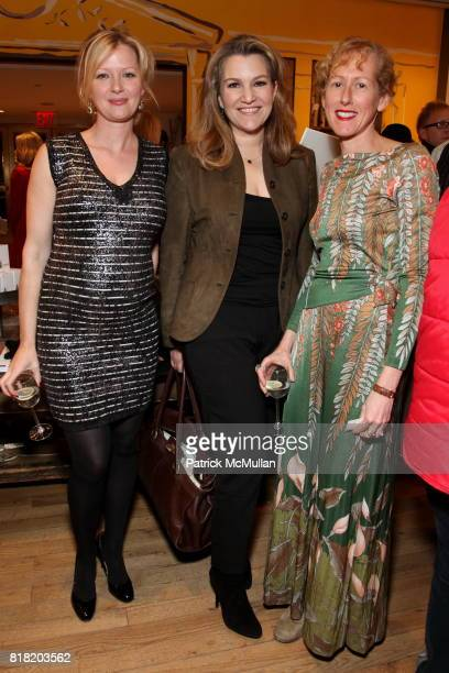 Gretchen Mol Krista Smith and Wendy Wurtzburger attend Anthropologie Hosts US Book Launch of BLOW BY BLOW at Anthropologie at Rockefeller Center on...