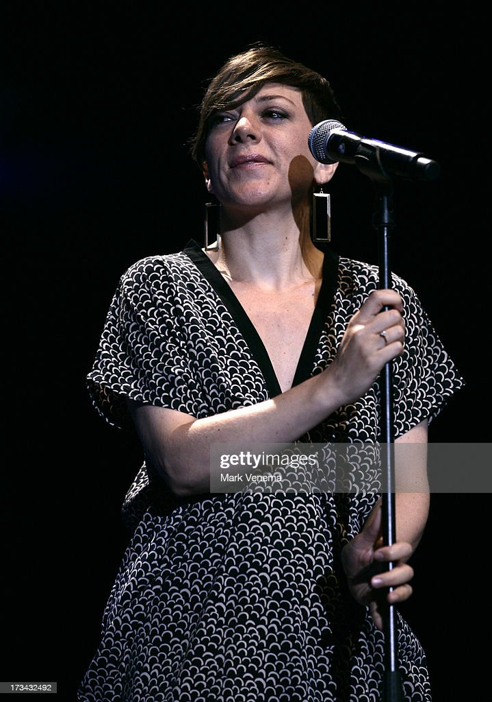 Gretchen Parlato performs at Day 2 of the North Sea Jazz Festival at Ahoy on July 13, 2013 in Rotterdam, Netherlands.