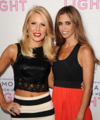 Gretchen Rossi and Lydia McLaughlin attend Macy's Passport presents Glamorama at Orpheum Theatre on September 12 2013 in Los Angeles California