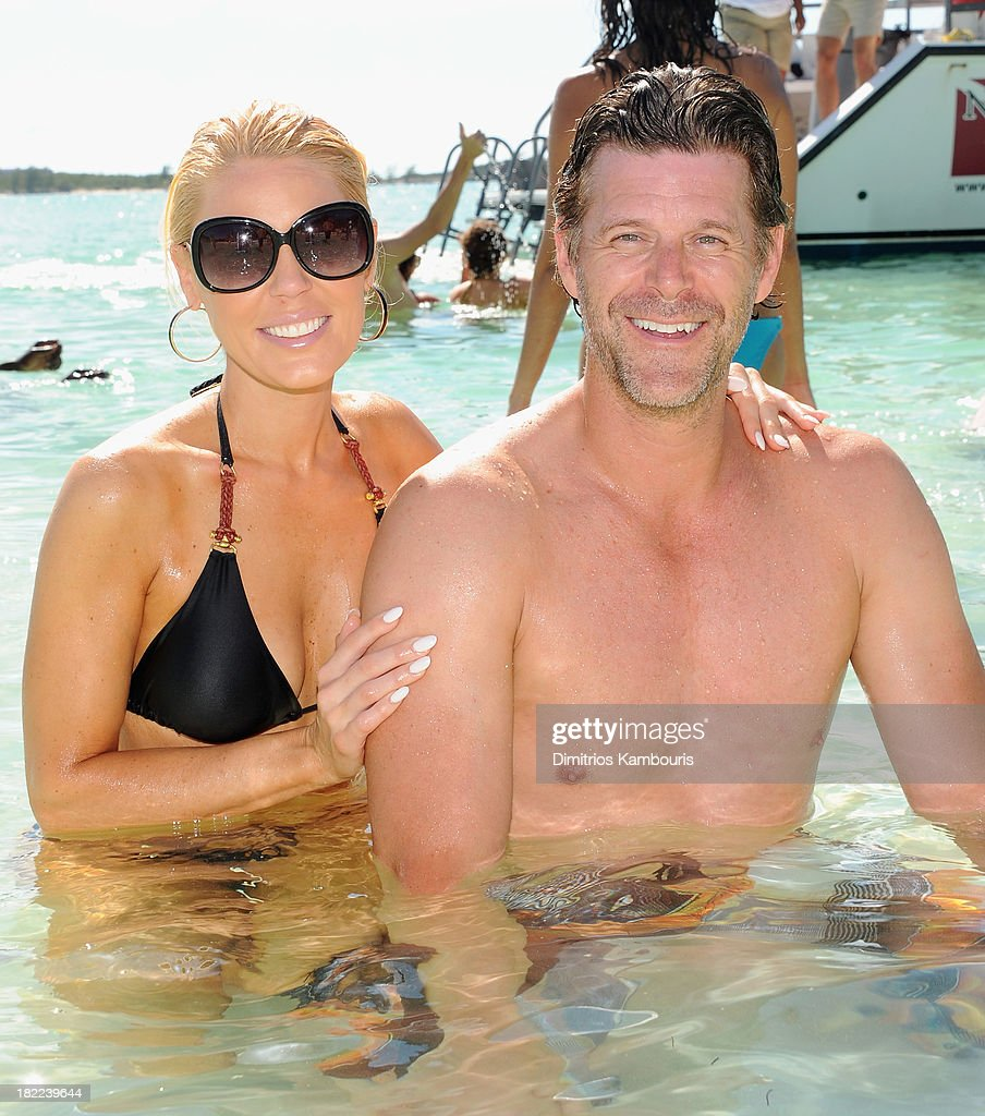 <a gi-track='captionPersonalityLinkClicked' href=/galleries/search?phrase=Gretchen+Rossi&family=editorial&specificpeople=5637804 ng-click='$event.stopPropagation()'>Gretchen Rossi</a> (L) and <a gi-track='captionPersonalityLinkClicked' href=/galleries/search?phrase=Slade+Smiley&family=editorial&specificpeople=3202858 ng-click='$event.stopPropagation()'>Slade Smiley</a> attend the Island Routes Caribbean Adventures during Day Two of the Sandals Emerald Bay Celebrity Getaway And Golf Weekend on September 28, 2013 at Sandals Emerald Bay in Great Exuma, Bahamas.