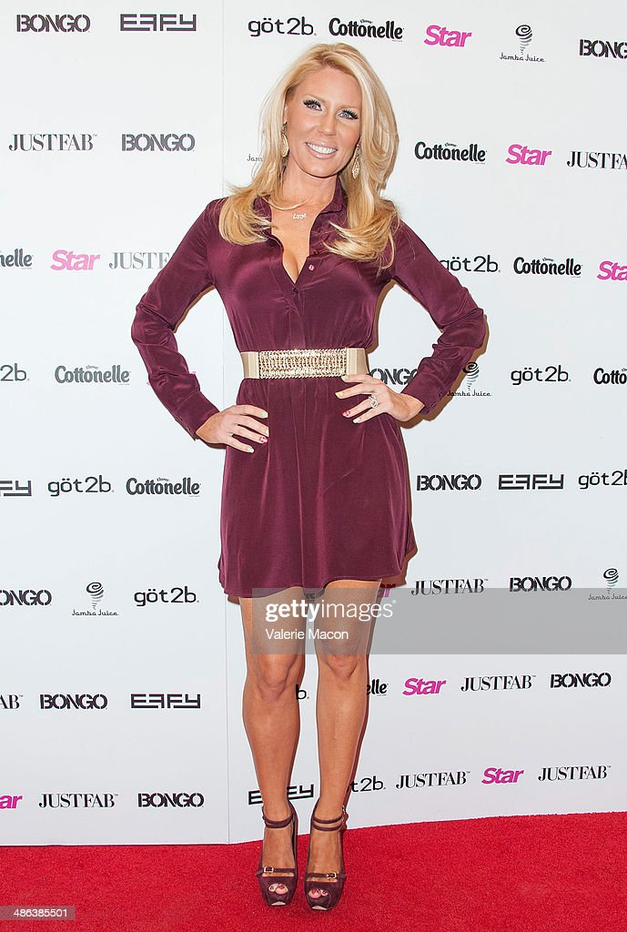 Gretchen Rossi arrives at Star Magazine Hollywood Rocks 2014 at SupperClub Los Angeles on April 23, 2014 in Los Angeles, California.