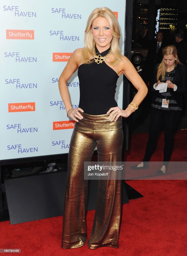 Gretchen Rossi arrives at the Los Angeles Premiere 'Safe Haven' at TCL Chinese Theatre on February 5, 2013 in Hollywood, California.