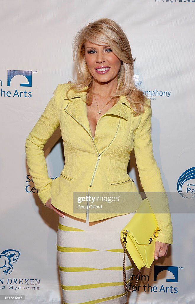 <a gi-track='captionPersonalityLinkClicked' href=/galleries/search?phrase=Gretchen+Rossi&family=editorial&specificpeople=5637804 ng-click='$event.stopPropagation()'>Gretchen Rossi</a> arrives for the Kenny G performance with the Pacific Symphony 2013 Pops Series at Segerstrom Center For The Arts on February 15, 2013 in Costa Mesa, California.