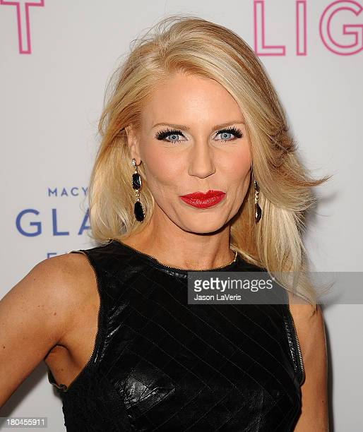 Gretchen Rossi attends Macy's Passport presents Glamorama at Orpheum Theatre on September 12 2013 in Los Angeles California