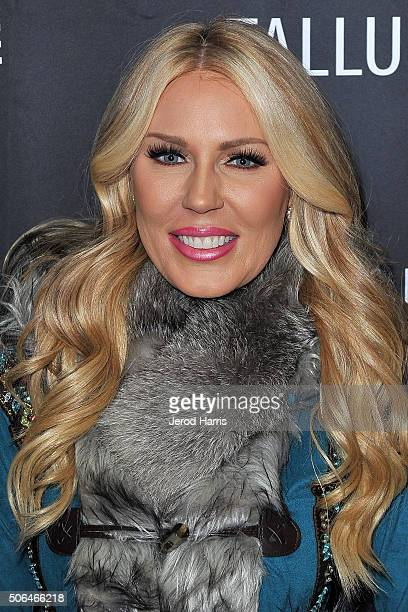 Gretchen Rossi attends the SteelHouse Hosted Tallulah Cocktail Party at Sundance on January 23 2016 in Park City Utah