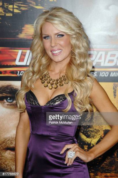 Gretchen Rossi attends UNSTOPPABLE World Premiere at Regency Village Theatre on October 26 2010 in Westwood California