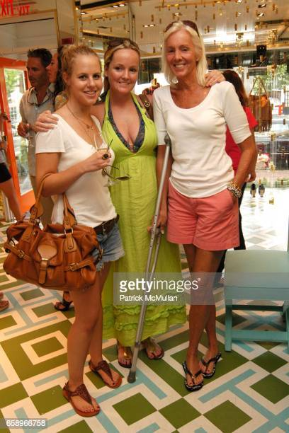 Gretchen Rouillard Whitney Olive and Susan Dayton attend Charity event for Best Buddies with The Turks Caicos Sporting Clubre at Tory Burch Store on...