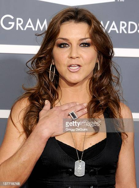 Gretchen Wilson arrives for the 53rd Annual GRAMMY Awards at the Staples Center February 13 2011 in Los Angeles California