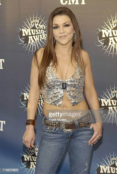 Gretchen Wilson during 2006 CMT Music Awards Arrivals at Curb Event Center at Belmont University in Nashville Tennessee United States