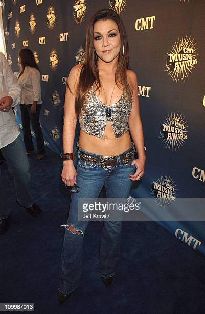 Gretchen Wilson during 2006 CMT Music Awards Red Carpet at Curb Events Center at Belmont University in Nashville Tennessee United States