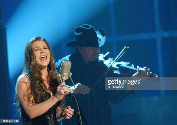 Gretchen Wilson during 38th Annual Country Music Awards Show at Grand Ole Opry House in Nashville Tennessee United States