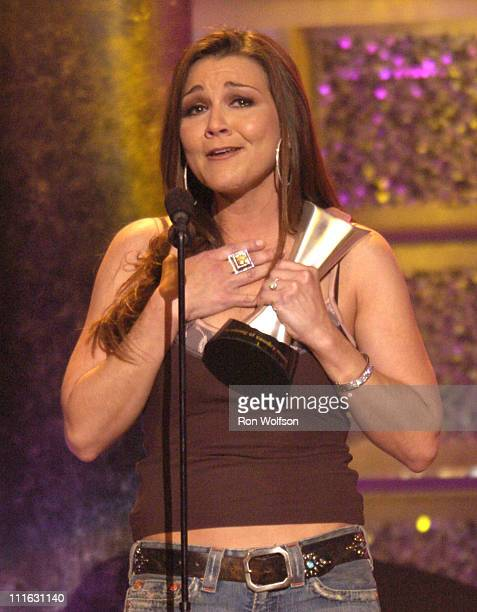 Gretchen Wilson during 40th Annual Academy of Country Music Awards Show at Mandalay Bay Resort and Casino Events Center in Las Vegas Nevada United...