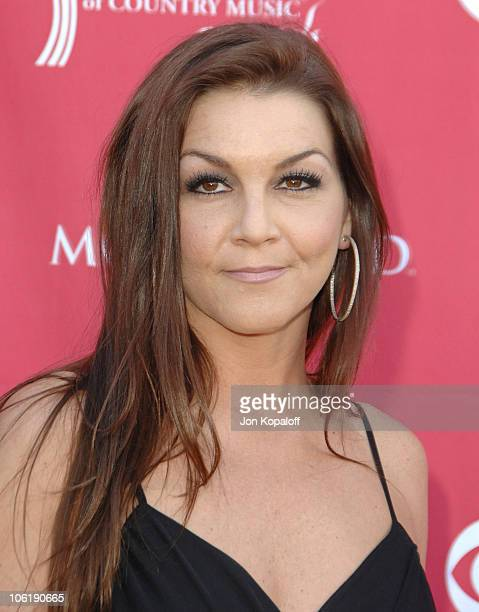 Gretchen Wilson during 42nd Academy of Country Music Awards Arrivals at MGM Grand Hotel and Casino Resort in Las Vegas Nevada United States