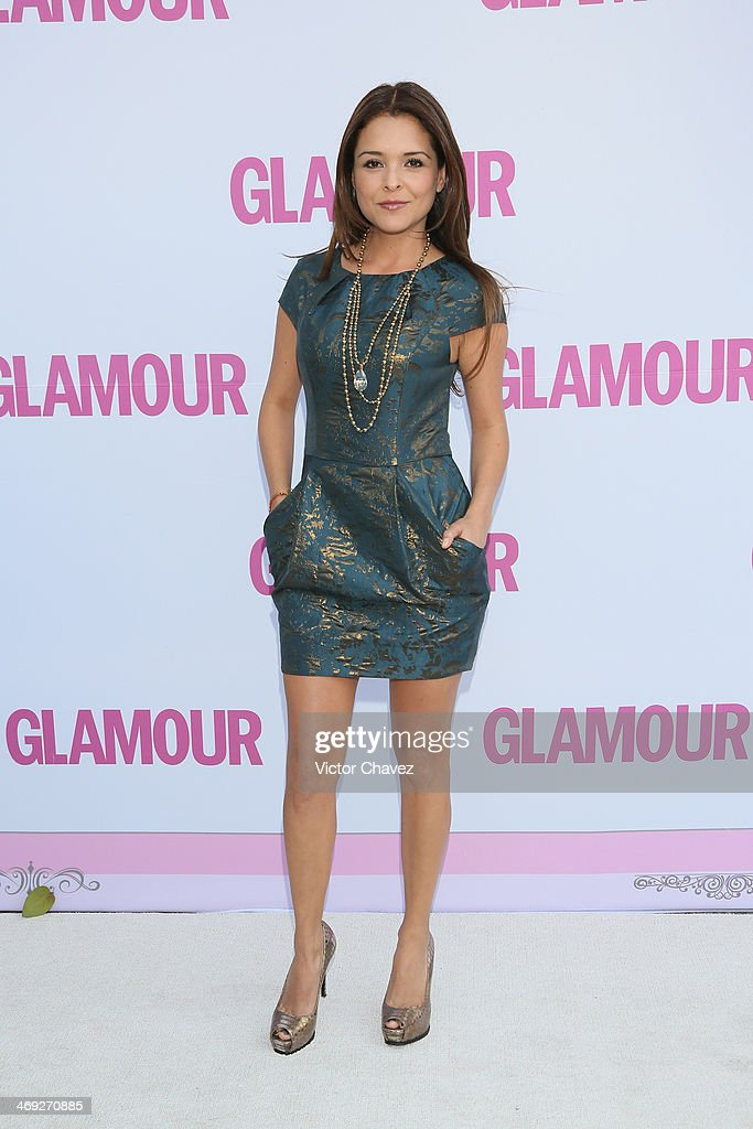 Grettell Valdez attends the Glamour Magazine México Beauty Awards 2013 at Museo Rufino Tamayo on February 13, 2014 in Mexico City, Mexico.