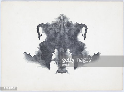 rorschach tache dencre photo getty images. Black Bedroom Furniture Sets. Home Design Ideas
