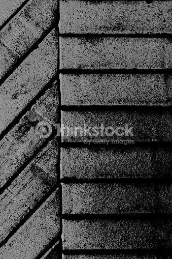 Grey Bricks Background Stylised Stock Photo