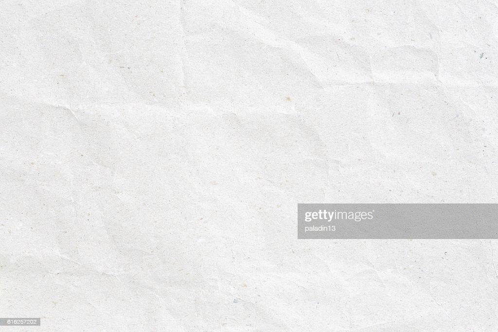 Grey crumpled paper texture : Foto de stock